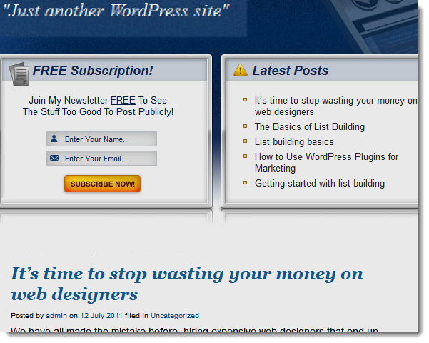 Web Design: Pot Meet Kettle