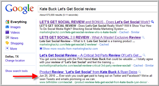 Kate Buck's Let's Get Social Review