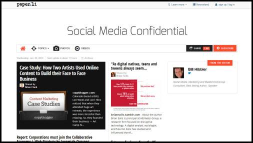 Paper.li - Social Media Tip