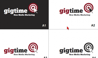 Gigtime A Logo Set