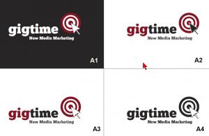 Gigtime Logo A Set