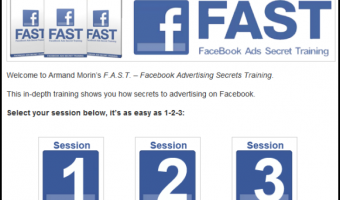 Armand Morin's Facebook Ads Secret Training Review